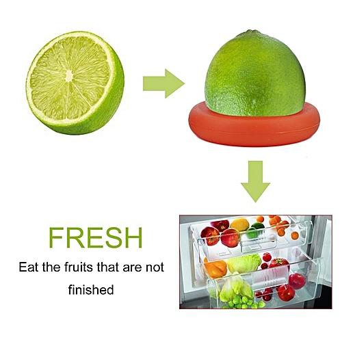 EYOYO 4Pcs/set Practical Vegetable Fruit Holders Plastic Colorful Food Holders