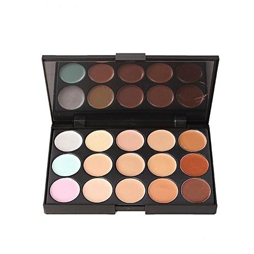 Generic Professional 15 Colours Concealer Contour Makeup Palette