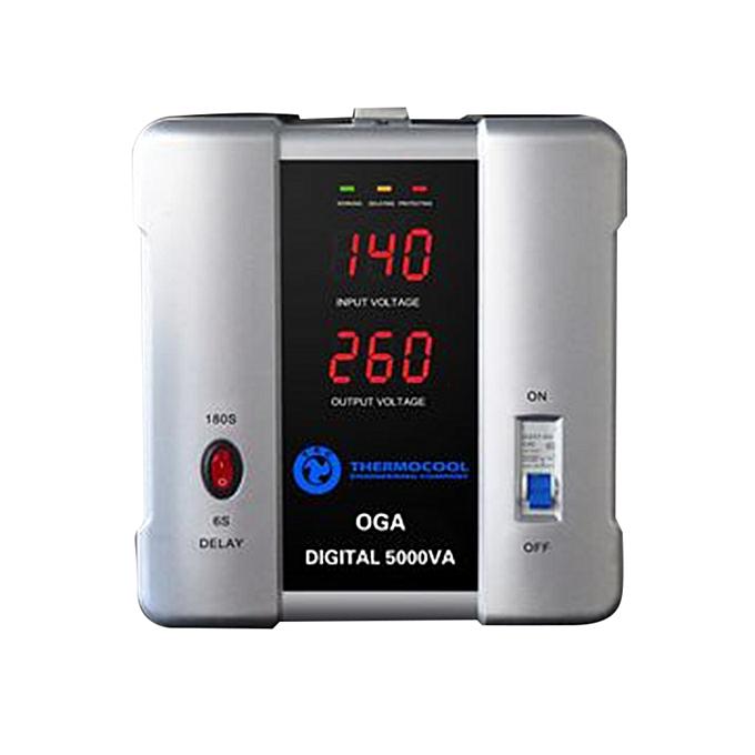 Haier Thermocool Digital 5000VA TEC Stabilizer