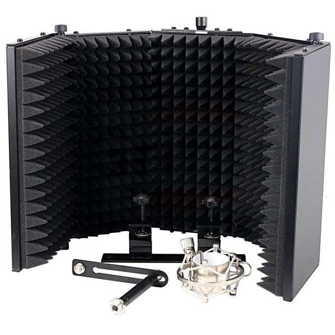 jaguar vocal booth mic reflection filter jumia ng. Black Bedroom Furniture Sets. Home Design Ideas