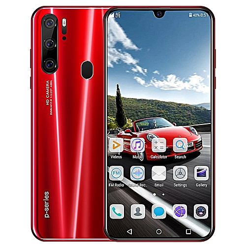 P35 PRO Android 9.1 Smart Phone 8Cores 6G+128GB Face Recognition Smartphone 6.3 Inch Touch Screen 4800mAh Long Standby