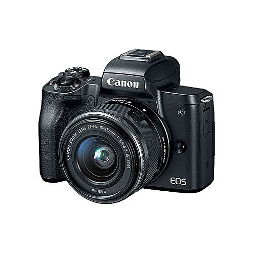 EOS M50 EF-M 15-45mm IS STM Kit With EF Mount