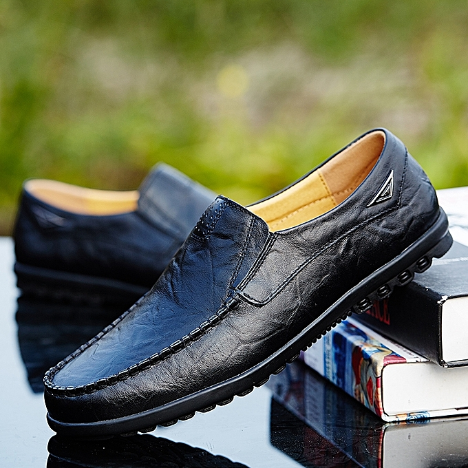 665b1b721c0 Fashion Men Fashion Comfort Slip On Loafers Black