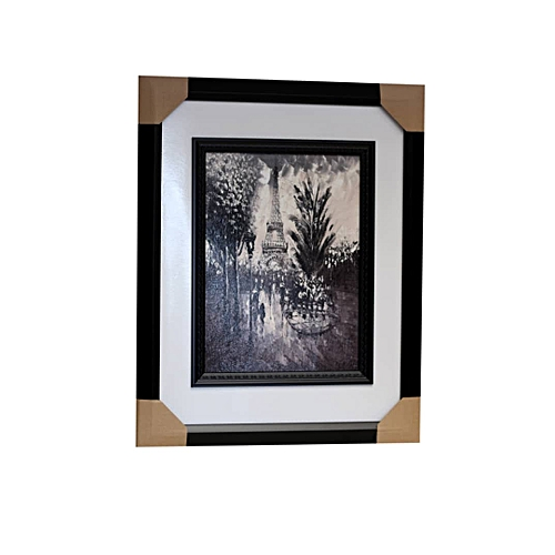 Large Wall Frame - Black And White