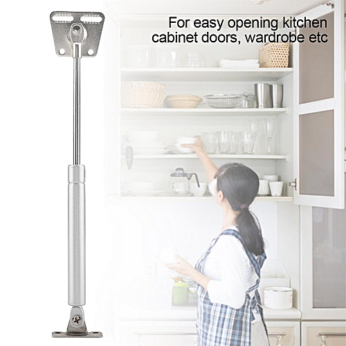 Sweetbaby Lift Door Hinge Hydraulic Gas Support Spring Stay For Kitchen Cabinet Open Close Holder