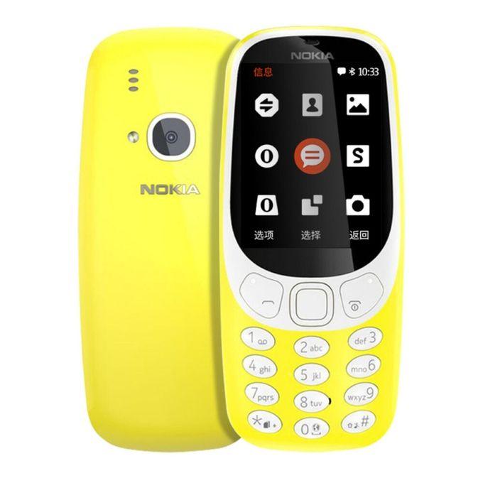 nokia 3310 new 2017 dual sim 2mp camera mobile phone yellow buy online jumia nigeria. Black Bedroom Furniture Sets. Home Design Ideas