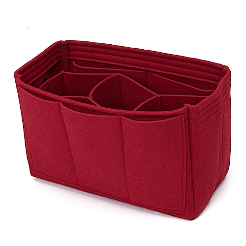 Handbag Organizer/Insert/Shaper/Liner 0x18.8x15cm Red