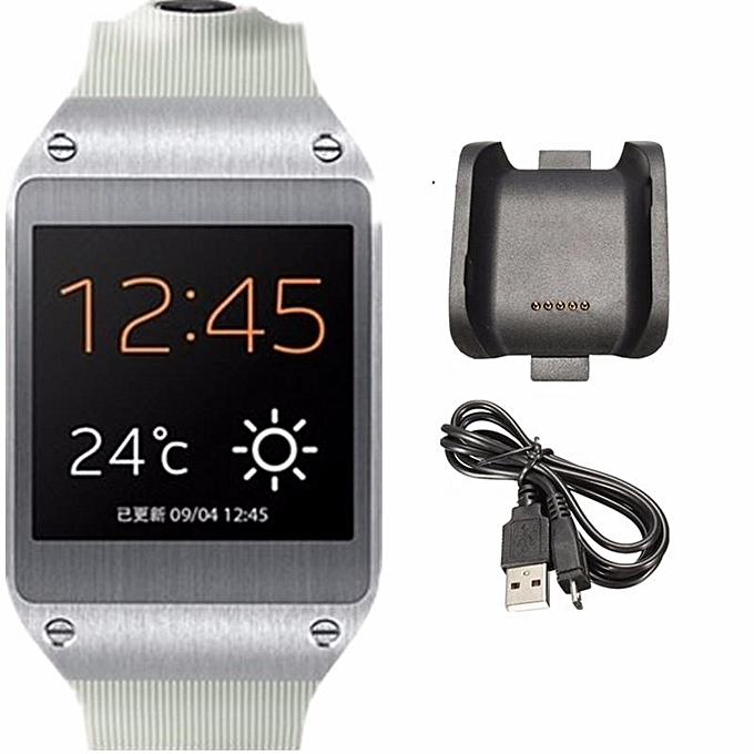 Fashion Charging Cradle Smart Watch Black Charger Dock For Samsung
