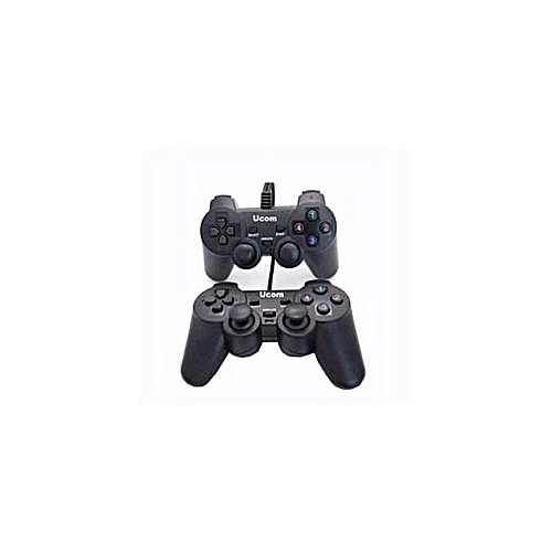 Double/Twin PC Controller Game Pad