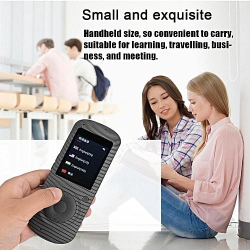 Portable Intelligent Real Time WIFI Voice Translator 37 Language Multilingual Travel Translator