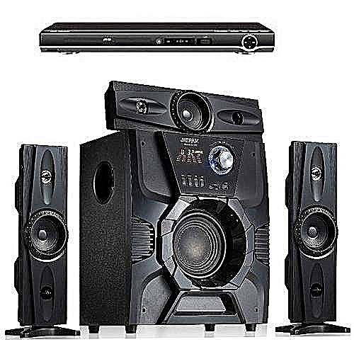 Bluetooth Home Theatre System + DVD Player