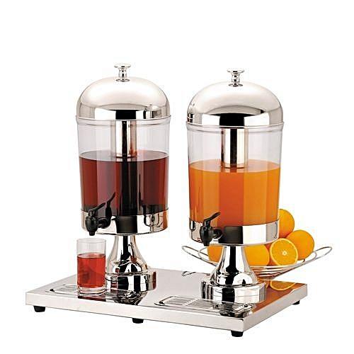 10 Litre Each-High Grade Anti Rust Stainless Steel Juice Dispenser
