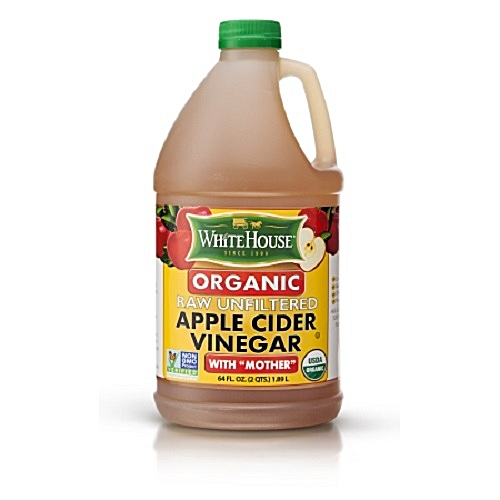 Apple Cider Vinegar Organic Raw Unfiltered With 'Mother' 1.89L