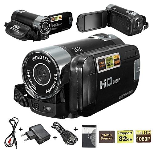 "2.7"" Digital Video Camcorder 1080P Camera Black"
