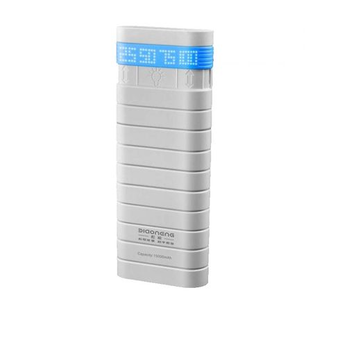 Power Bank-NB-8606-15000mAh With Powerful Touch Light-blue Edge