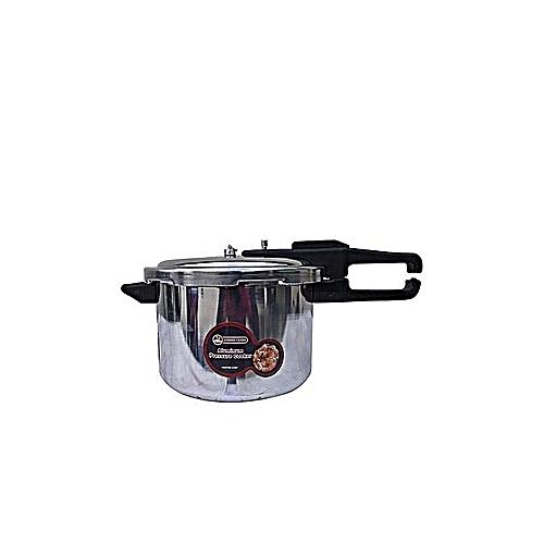 Pressure Cooker 9.5 Litres- Silver