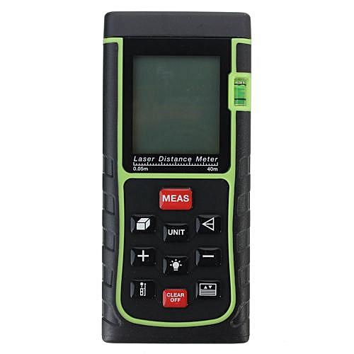80m / 262ft Digital Laser Distance Meter Rangefinder Measure Tape Diastimeter