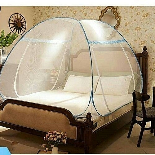 Foldable Mosquito Net Tent - 4 X 6 Bed