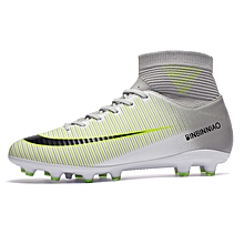 8182fae428785 High-tops Soccer Shoes Football Boots Suit Fashion Men And Kids Hot Sale  Sports Shoes