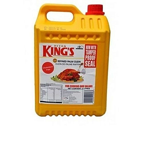 Devon Vegetable Cooking Oil - 5 Litres