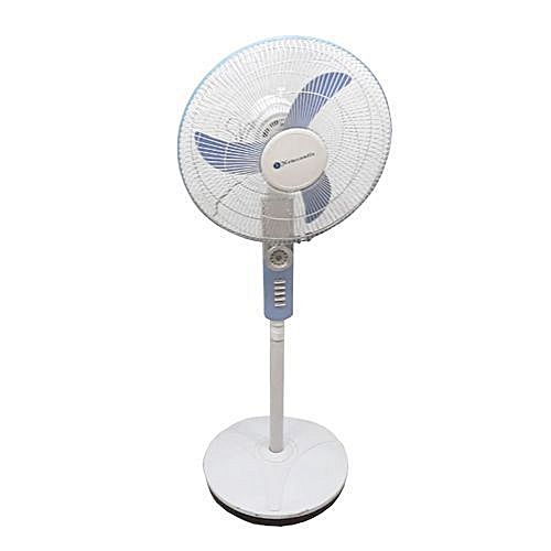 "16"" Rechargeable Fan With LED Light NCF 16-003"