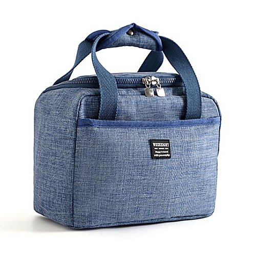 Waterproof Soft Cooler Bag Insulated Lunch Box Thermal Work School Picnic Bento