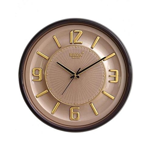 Wall Clock - RK-13 (Brown Cream)