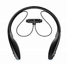 H7 Sports Bluetooth Neckband Headset With Magnetic Earbuds + In-Ear Noise Cancelling Function +