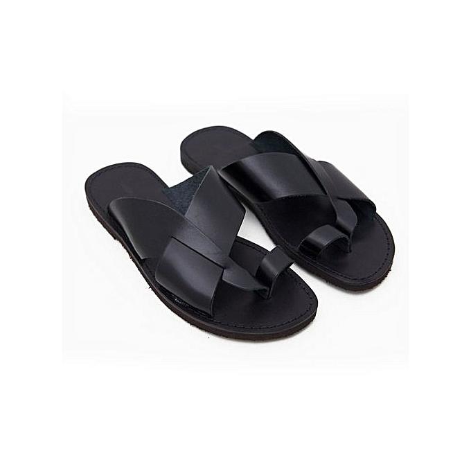 83ddbf873f0 Fashion Classic Male Palm Slippers