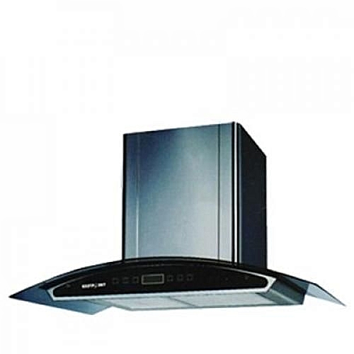Cooker Hood With Vent + Non Vent Black - 90cm (CHARCOL FILTER) HD60