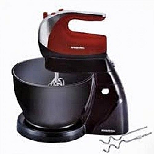 Cake Mixer With 5 Speed Rotating Plastic Bowl - 4Litres