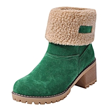 9056682d2 Tectores Boots For Women Women's Ladies Winter Shoes Flock Warm Boots  Martin