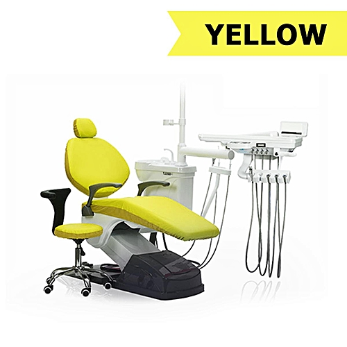 Dental Unit Cover Cloth Dentist Chair Protector Sleeves Washable 4pcs Per Set
