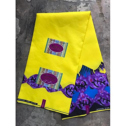 Small Ankara Print- Multicolour, 6 Yards