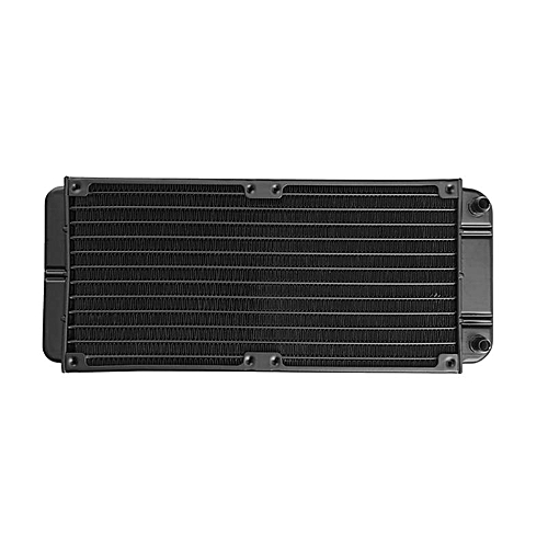 240mm 12-Tube Aluminum Alloy Computer Water Cooler PC Case Water Cooling Radiator Heat Exchanger For Laptop Desktop