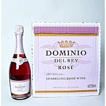 f1c3d6faa8510 Dominio Del Rey Sparkling Rose Wine – 75CL (X 6 Bottles)