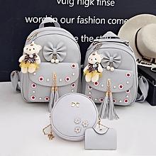 b6f210202 Pu Leather Women'S Bag Fashion Korea Student Backpack Backpack Luxury Handbags  Women