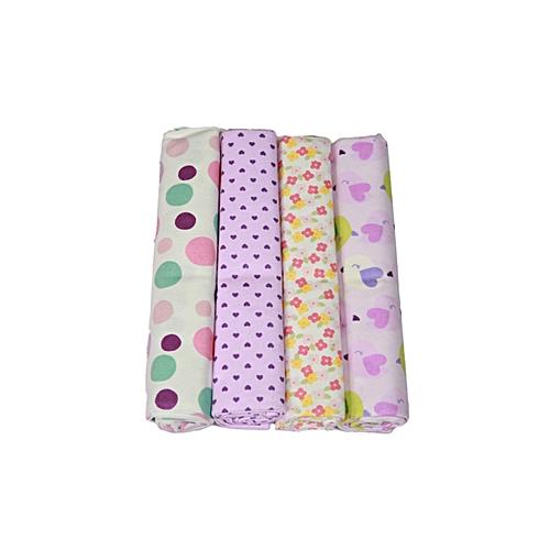 carter's 4 In 1 Flannels/Receiving Blankets