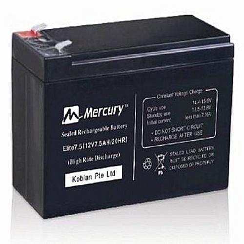 Elite 7.5 UPS Battery 12Volts 7Ahs.