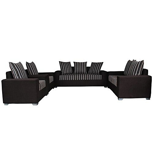 7 Seater - Brown Sofa (DELIVERY WITHIN LAGOS ONLY)