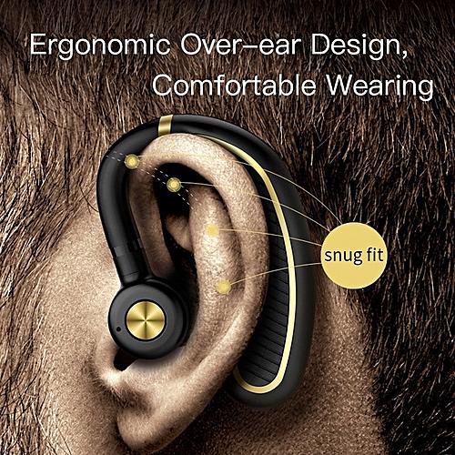 c95935ea6e4 Bluetooth Headset,Wireless Bluetooth 4.1 Business Headphone Earphone 300mAh  Super Long Standby Earpiece With Mic