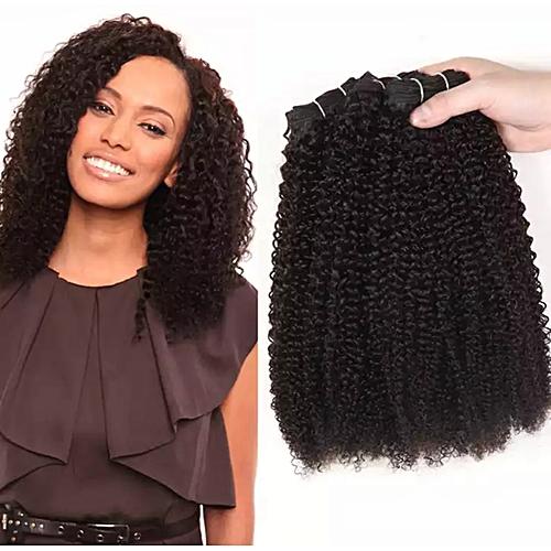 Spring - Jo Curly Hair (4-5 Bundles For Full Hair) Natural