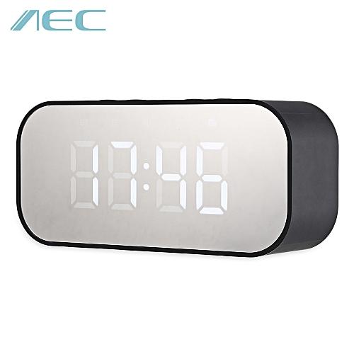 Portable Alarm Clock Wireless Bluetooth Stereo Speaker
