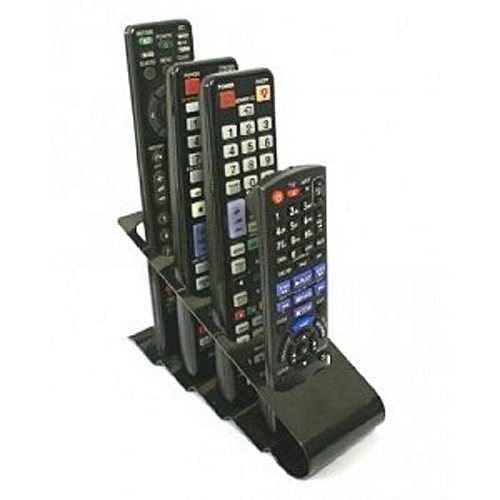Remote Control Holder And Organizer - Black
