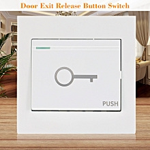 Used, Door Exit Release Button Switch For Electric Magnetic Door Access Control System for sale  Nigeria