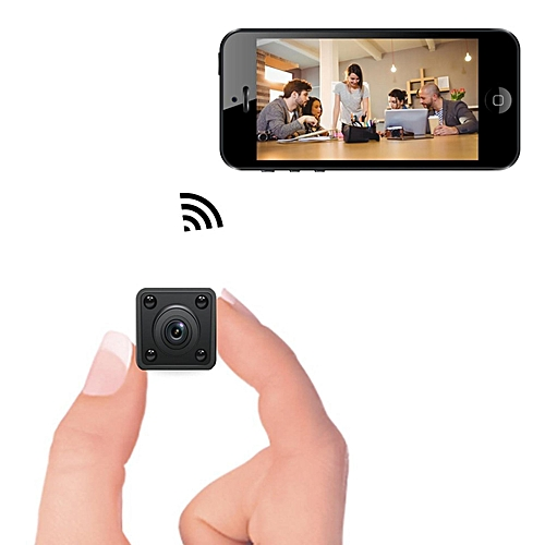 Mini WiFi Camera Wireless Hidden Mini Cam With Motion Detection Night Vision HD 720P IP Video Recorder With Mobile Live View For Android By HT