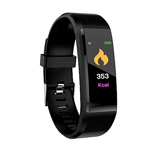 ID115plus Smart Bracelet 0.96inch TFT Screen 90mAh Heart Rate Blood Pressure Monitoring Calorie Fitness IP67 Waterproof BT Alarm Sports Wristwatch For Android / IOS