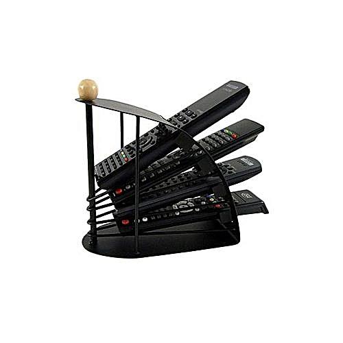 Remote Control Organizer & Holder - Black