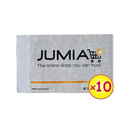 10 Small Jumia Branded Fliers (299mm x 311mm x 52mm)
