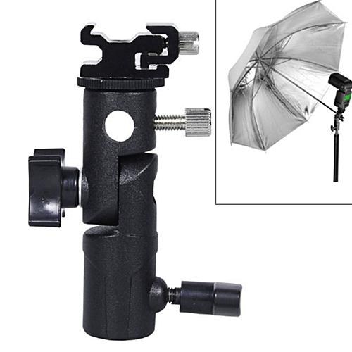 E Type Multifunctional Flash Light Stand Umbrella Bracket, Max Load: 3kg